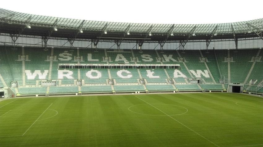 Stadion we Wrocławiu widziany z loży VIP - fot. Tomasz Janus / sportnaukowo.pl