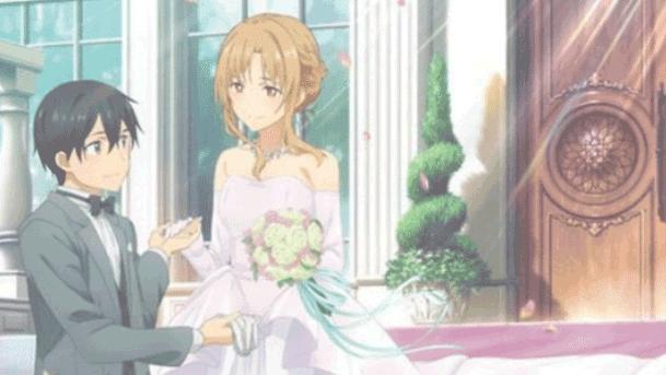 Sword Art Online - Daftar Anime Romance Ending Menikah