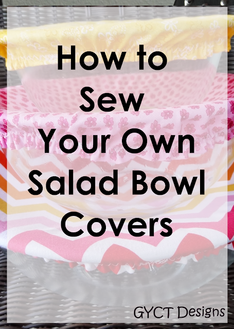 How to sew salad bowl covers