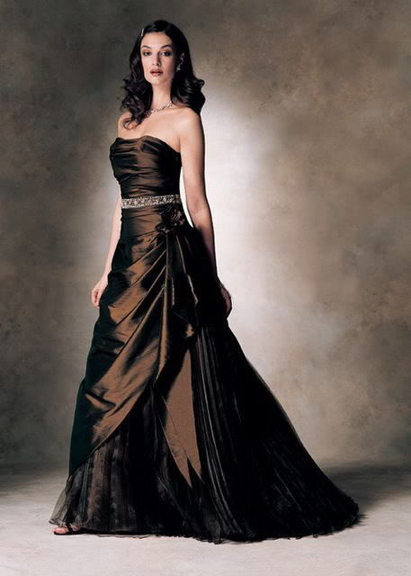 celebrity Gossip: Brown Wedding Dresses