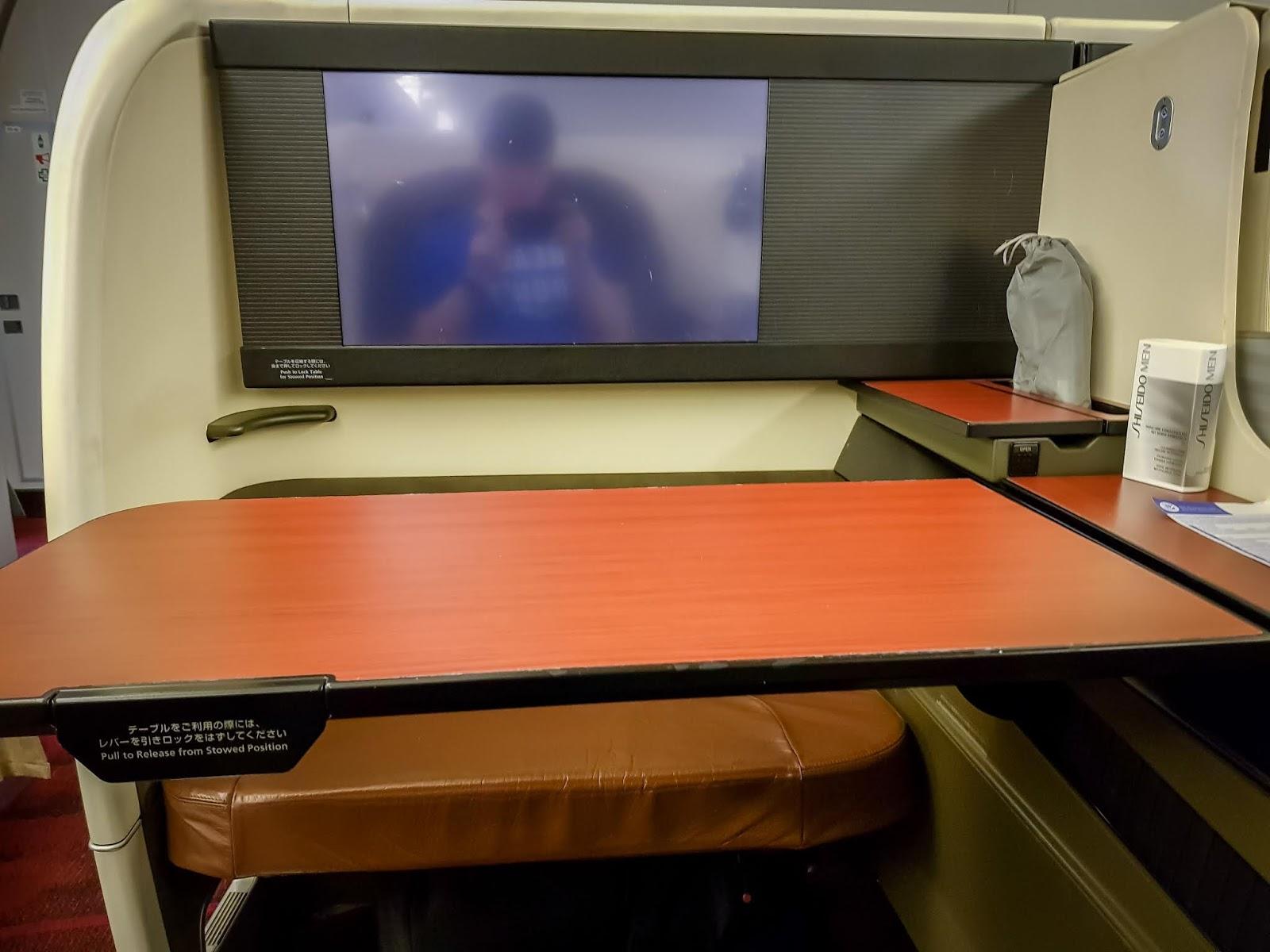 飛行紀錄|日本航空頭等艙 JL2: 東京羽田→舊金山 (HND-SFO)