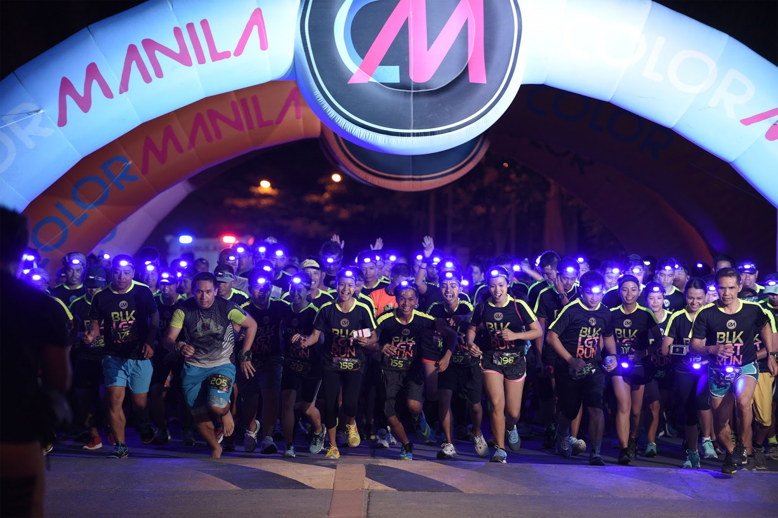CM Blacklight Tour by COLOR MANILA
