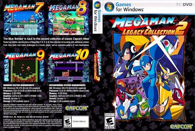 Jogo Mega Man Legacy Collection 2 PC DVD Capa
