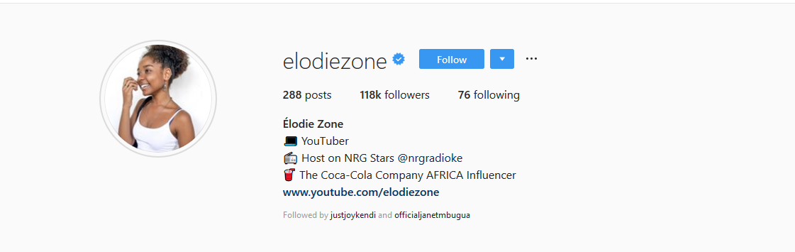 Elodie Zone Now Verified On Instagram. Here's How You Can Get Verified Too