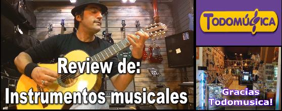 Review de instrumentos musicales.