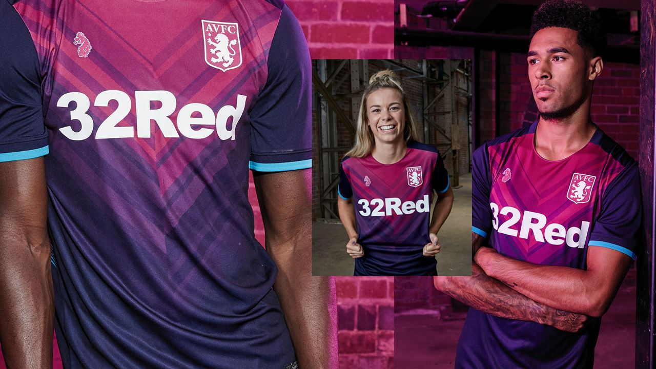 Aston Villa 18 19 Third Kit Released Footy Headlines