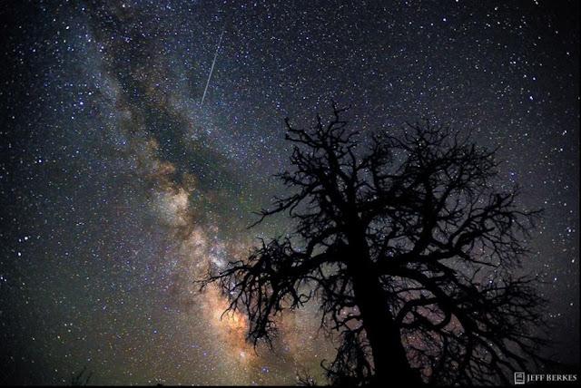 perseidas - chuva de meteoros - foto