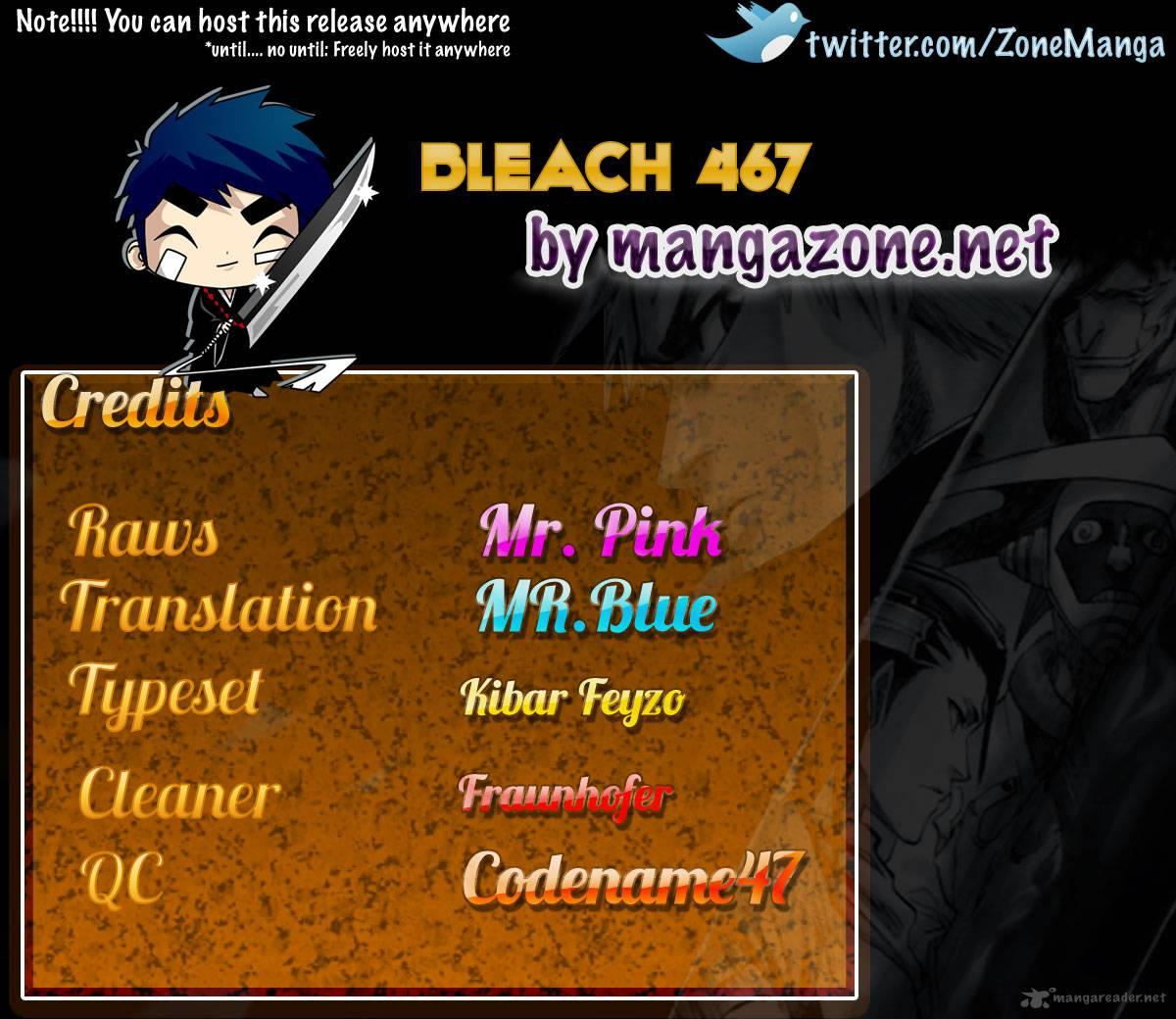 Bleach chapter 467 trang 20