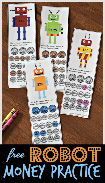 free-printable-robot-money-practice-counting-coins-kindergarten-first-grade-2nd-3rd-4th-grade