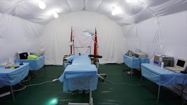 Rusia dona a Siria el hospital móvil que desplegó en Alepo