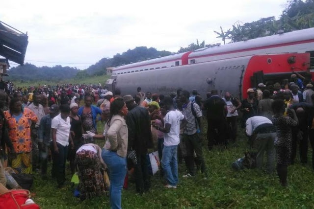 53 killed in Cameroon train derailment
