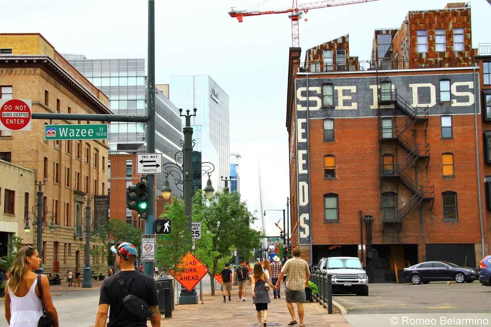 Downtown Denver Walking Tour