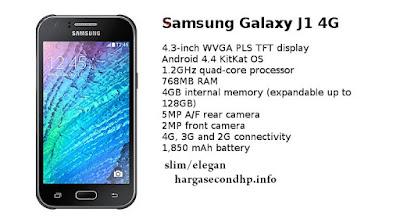 informasi spesifikasi dan harga samsung galaxy j1