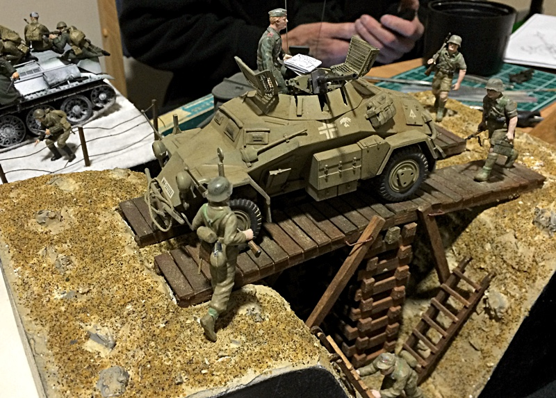 Military Models At The Tank Museum Bovington Armchair