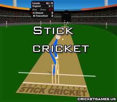Online Stick Cricket Game