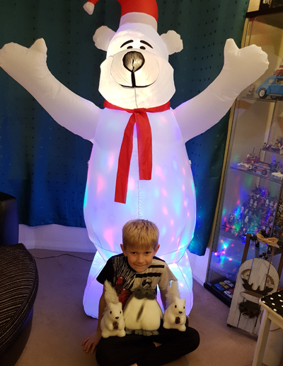 Christmas Inflatable Polar Bear by Maplin