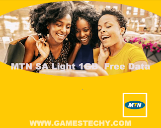 MTN South Africa free 1GB data cheat
