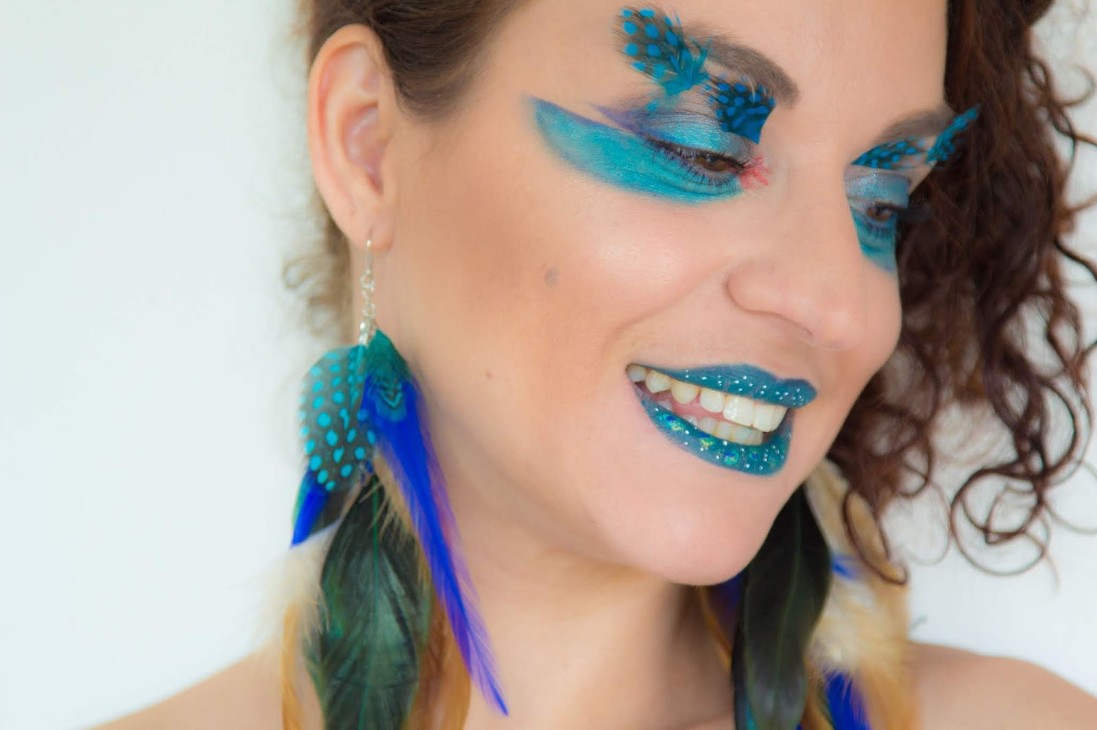 maquillage - artistique - inspiration - paon
