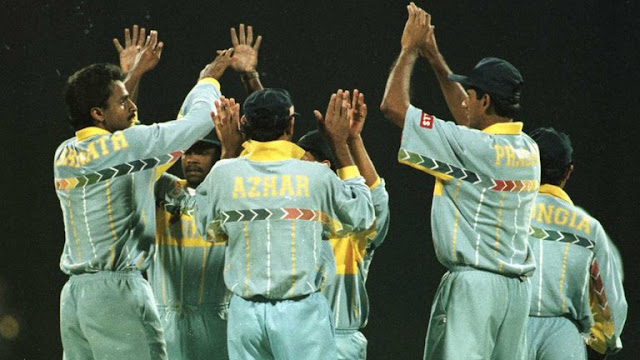 World Cup 1996: India beat Pakistan by 39 runs