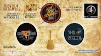A new acoustic fest, Hollywood Twist y The Sordos en El pez eléctrico
