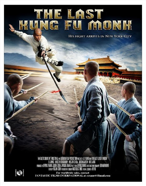 Poster of The Last Kung Fu Monk 2010 720p Hindi BRRip Dual Audio Full Movie Download