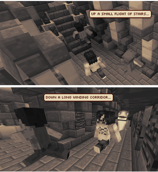 Minecraft the comic