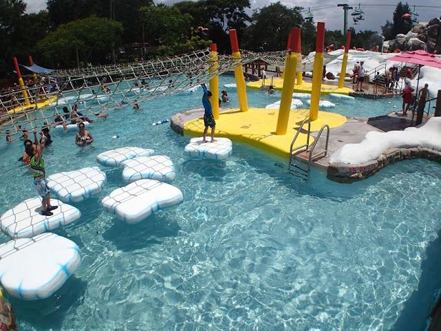Juegos para la familia en Blizzard Beach en Orlando