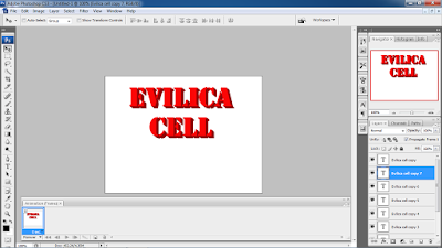 Cara membuat Tulisan 3D dengan Photoshop CS3