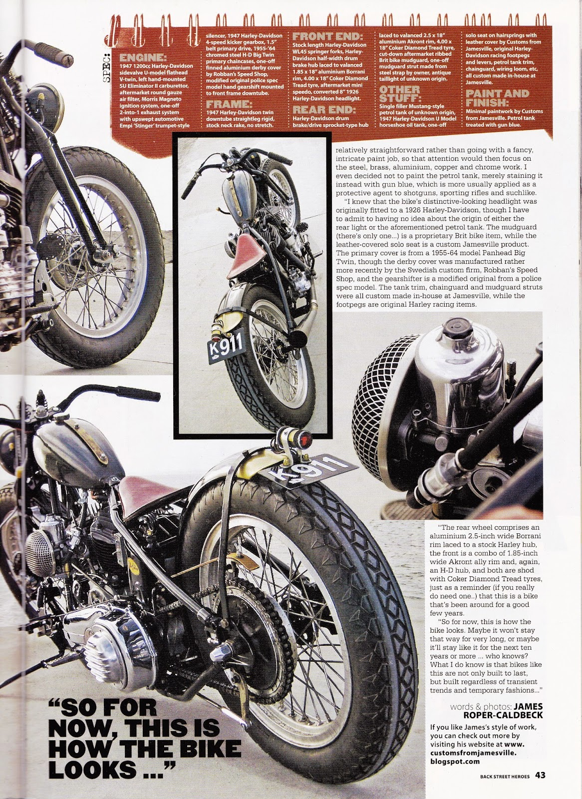 JAMESVILLE MOTORCYCLES: May 2013