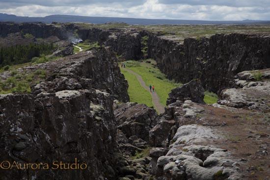 シンクヴェトリル国立公園 アルマンナギャウ  アイスランド