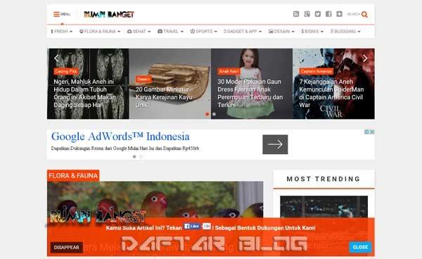 RumpiBanget.com - Blog Informasi Menarik dan Menghibur