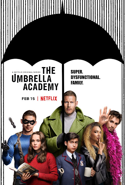 the umbrella academy netflix poster