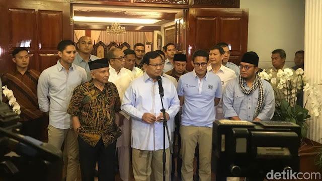 Prabowo soal Ratna: Saya Tak Merasa Salah, Hanya Grasa-grusu
