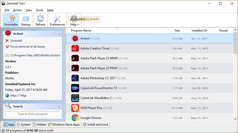 Free Download Uninstall Tool Final Full Version, Uninstall Tool Full Crack Terbaru, Uninstall Tool Plus Serial Number, Uninstall Tool Activation Key, Uninstall Tool Registration Code, Uninstall Tool License Key
