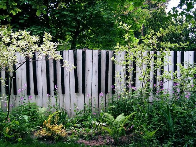 wooden garden fence panels, garden fence designs