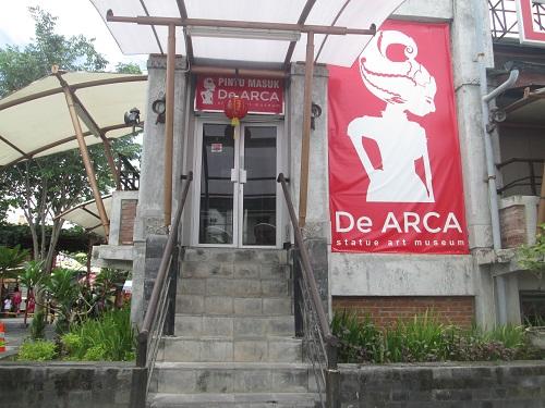 De Arca Statue Art Museum Jogja