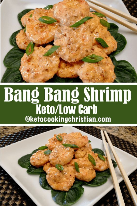 Bang Bang Shrimp – Keto, Low Carb & Gluten Free
