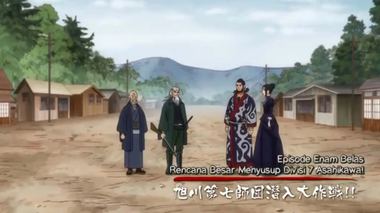 Golden Kamuy Season 2 Episode 4 Subtitle Indonesia