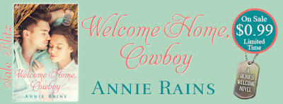 Cowboy Love Story 99¢ Sale! Welcome Home Cowboy by @AnnieRains_