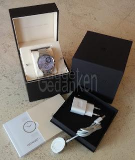Huawei Watch ausgepackt / Unboxing