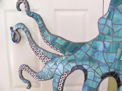 mosaic octopus legs