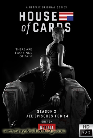 House Of Cards Temporada 2 [720p] [Latino-Ingles] [MEGA]