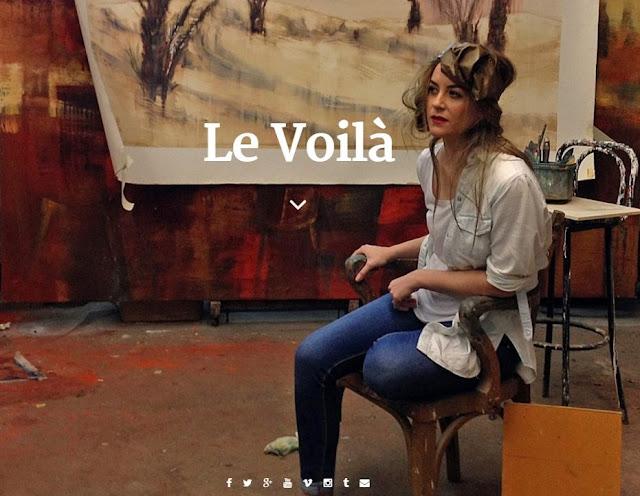 web de Le Voilà