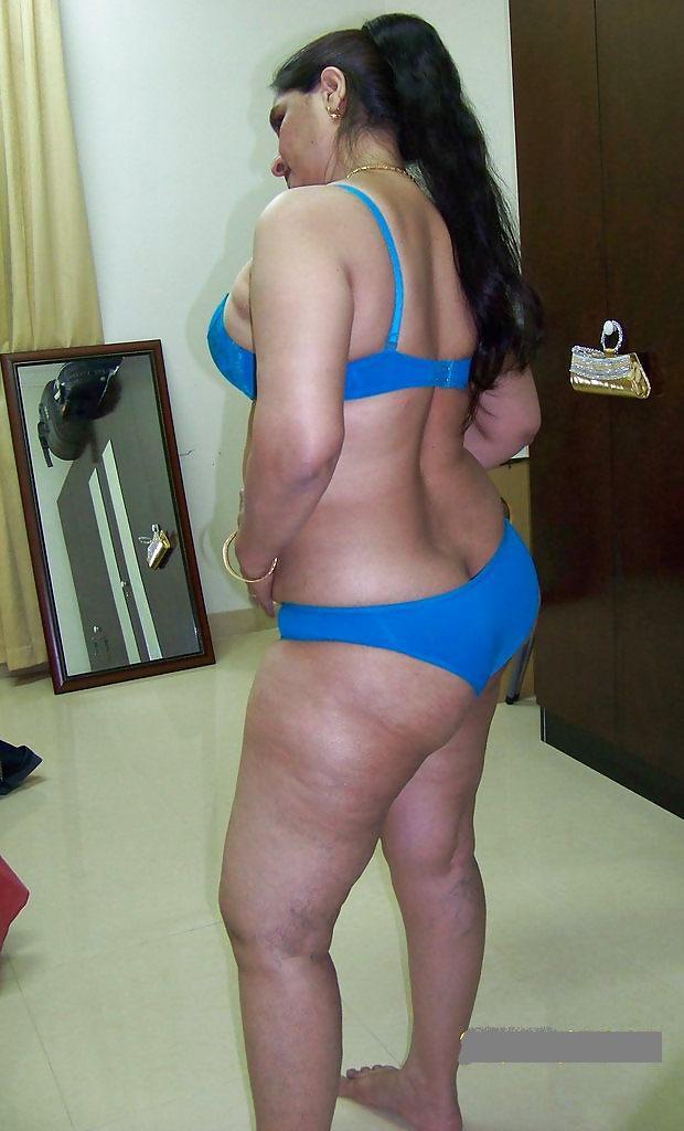 Nude aunty ass
