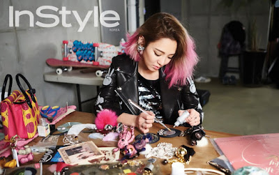 Hyoyeon SNSD Girls' Generation InStyle March 2016