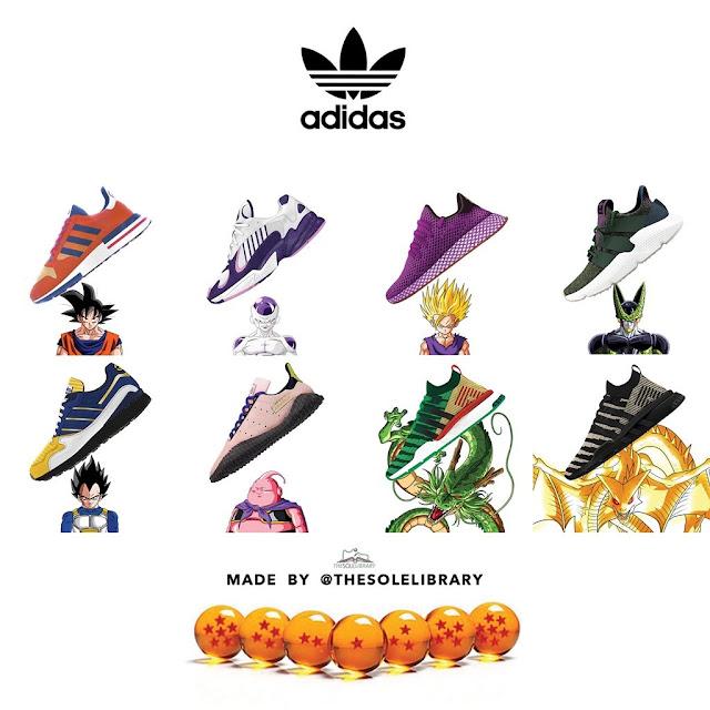 7f6c2bdad7c Adidas lança coleção de tênis inspirada em Dragon Ball Z - Bora ...