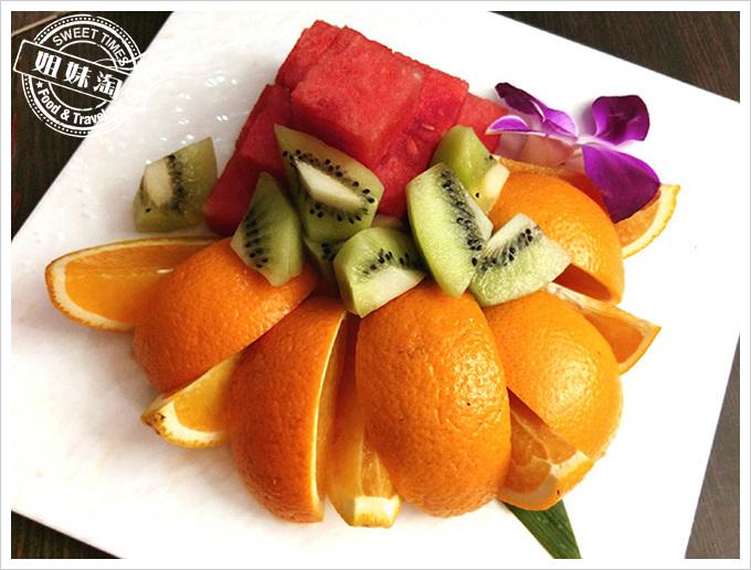便宜坊烤鴨水果
