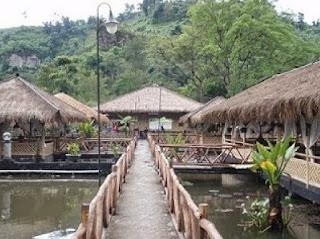 Harga Paket Wisata Kolam Pemancingan Bonita Saung Wargi Lembang