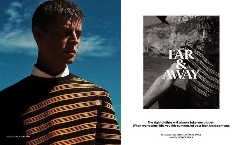 Janis Ancens Covers Essential Homme June/July Issue