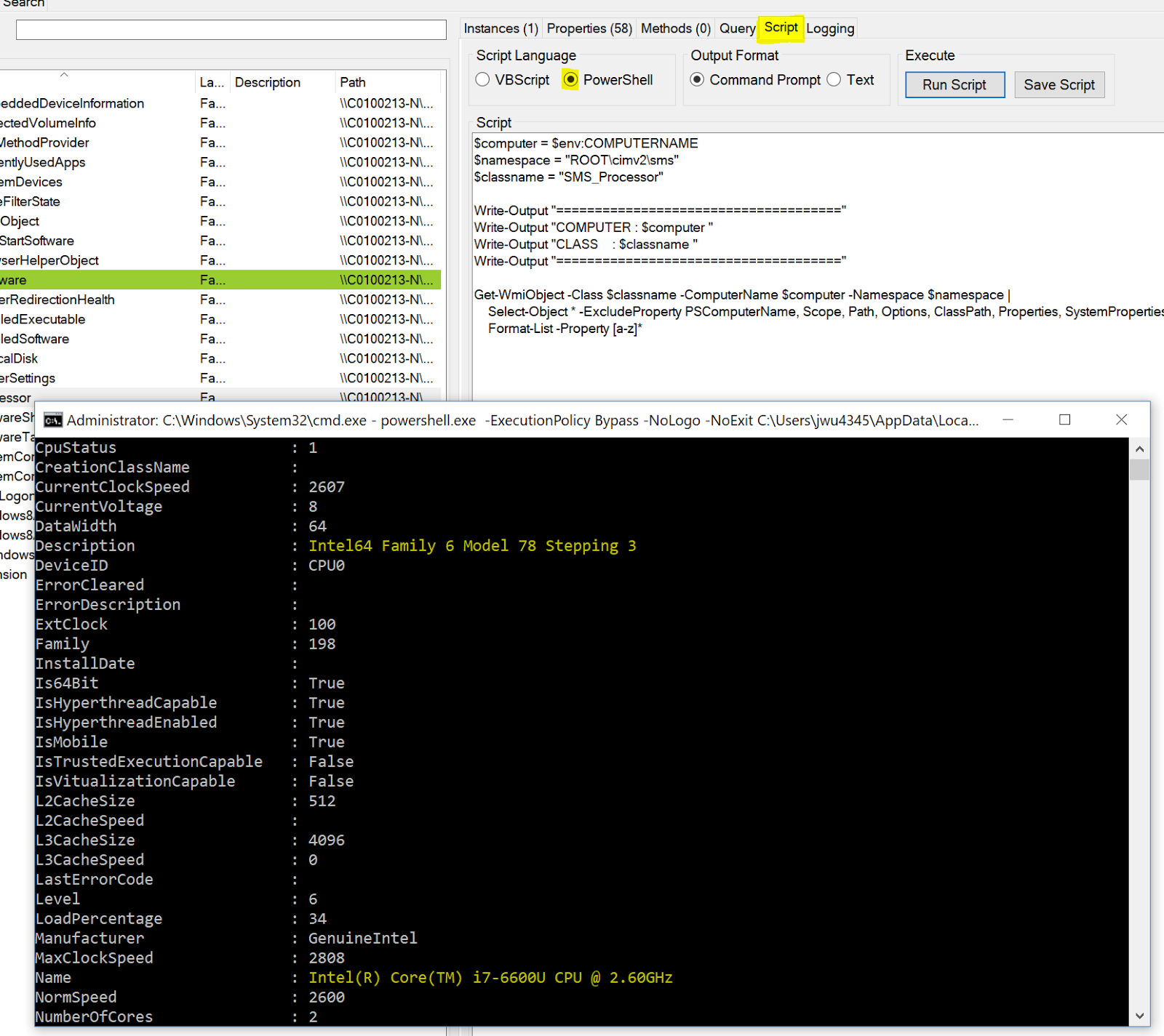 MS-Labrats (Updates via Twitter @MSLabrats): WMI Explorer 2 0